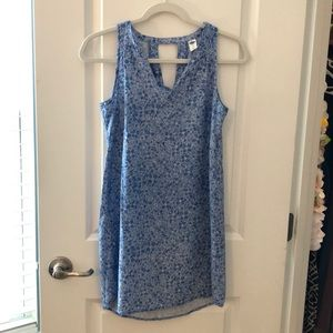 Old Navy dress size XS blue/white like new